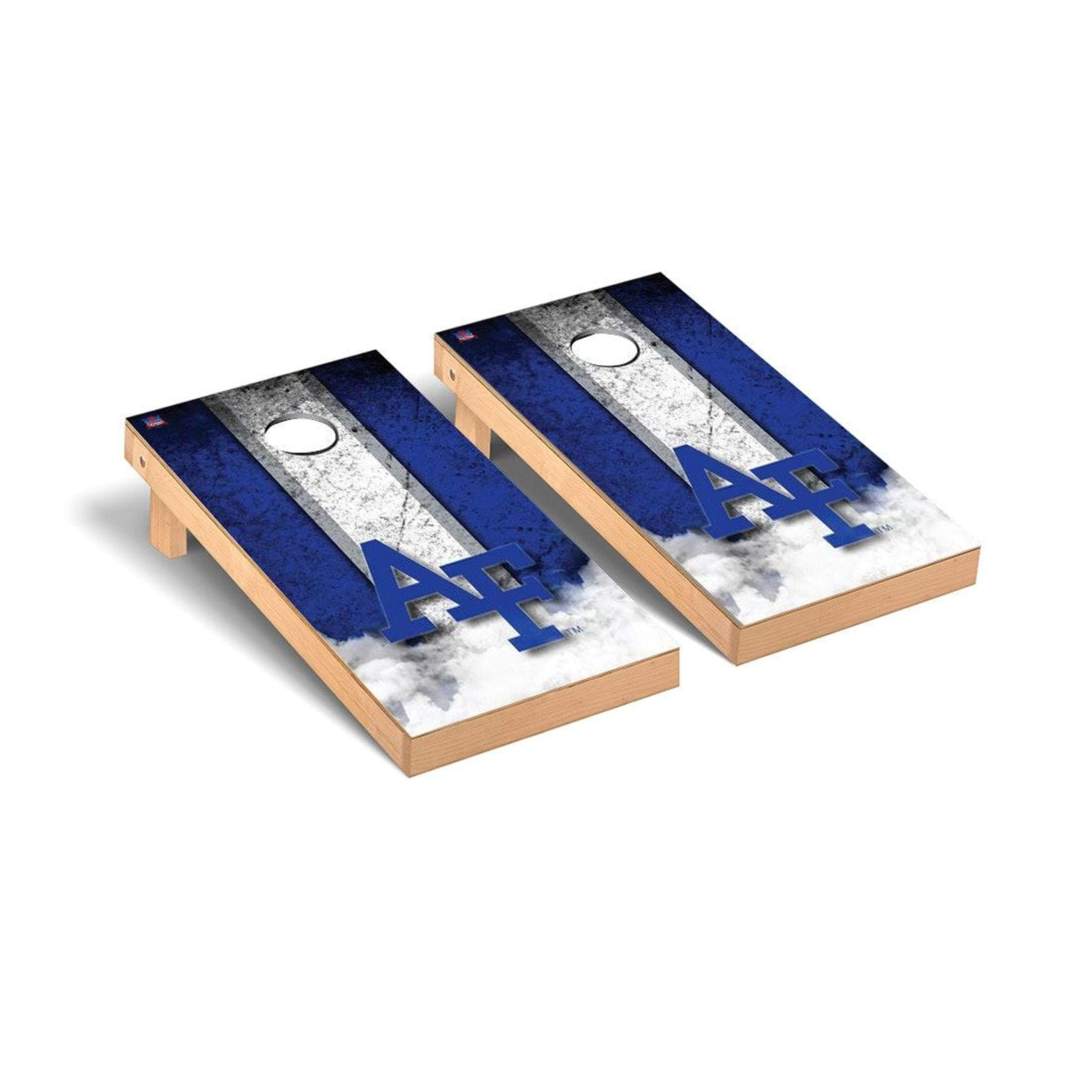 Victory Tailgate Regulation Collegiate NCAA Vintage Series Cornhole Board Set - 2 Boards, 8 Bags - Air Force Academy Falcons