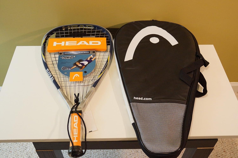 Head Ti 175 XL Raqueta de Racketball: Amazon.es: Deportes y aire libre