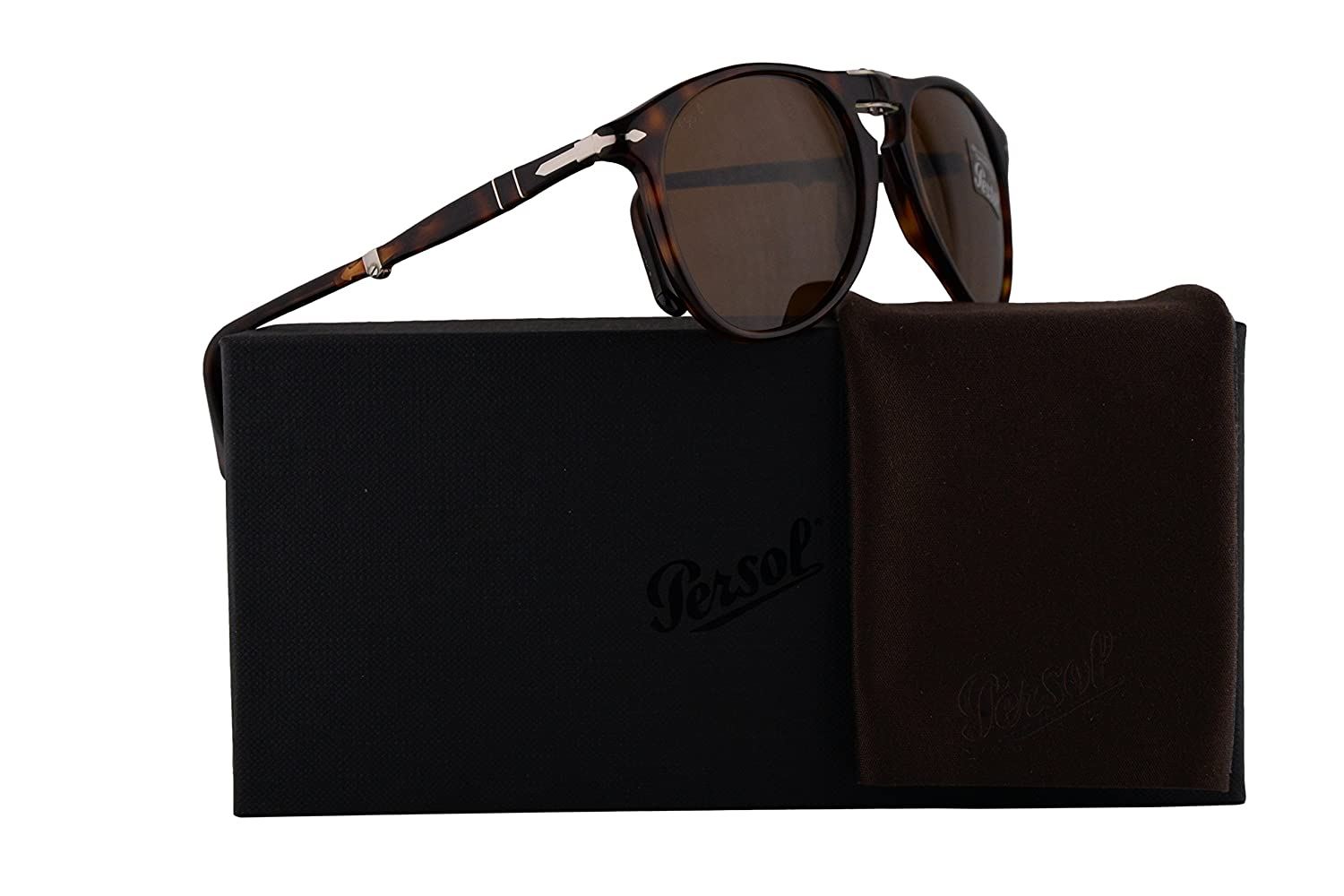 1a64cb4cb12e9 Amazon.com  Persol PO9714S Sunglasses Havana w Brown Lens 52mm 2433 PO9714-S  9714S PO 9714-S  Clothing