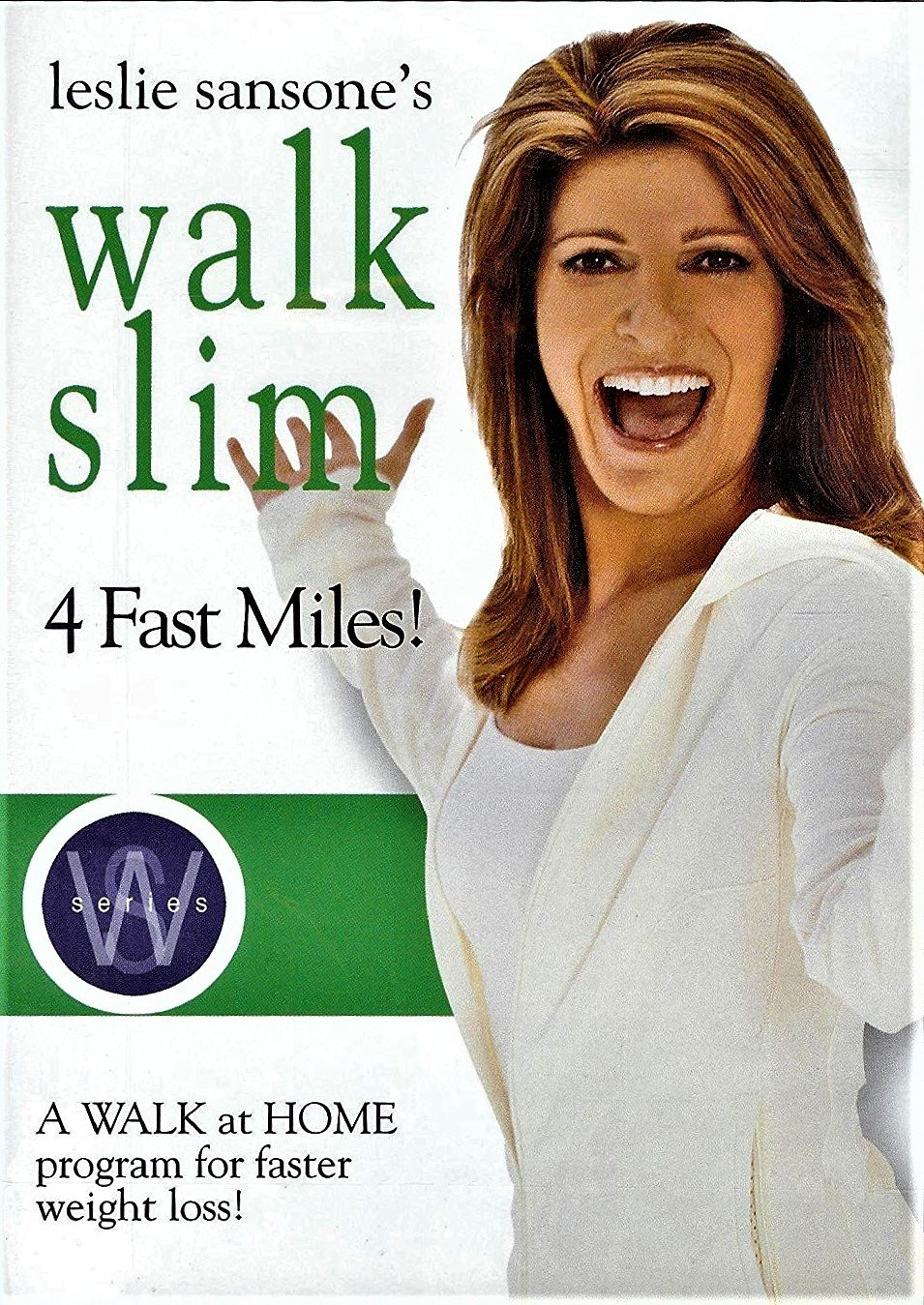 Leslie Sansone's Walk Slim 4 Fast Miles, a Walk At Home Program for Faster Weight Loss!