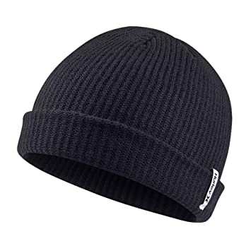 6a5e45bfcb Hurley M Staple Oao Beanie Black 1SIZE: Amazon.co.uk: Sports & Outdoors