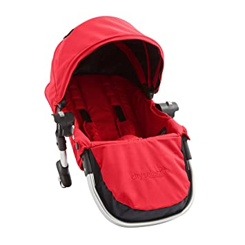 67bd723d4911 Amazon.com : Baby Jogger City Select Second Seat Kit with Silver Frame,  Ruby : Baby Stroller Accessories : Baby