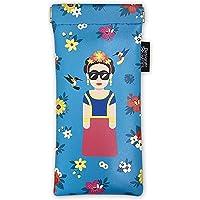 Designer Souvenirs - Funda para Gafas de Diseño Frida Kahlo para Mujer y Hombre   Estuche para Guardar Gafas de Sol…