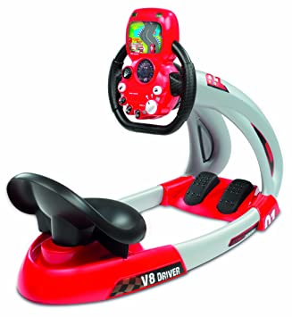 Smoby pilot v8 driver simulator other action figures & playsets uk.