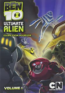 Cartoon Network Classic Ben 10 Ultimate Alien Escape From Aggregor V1