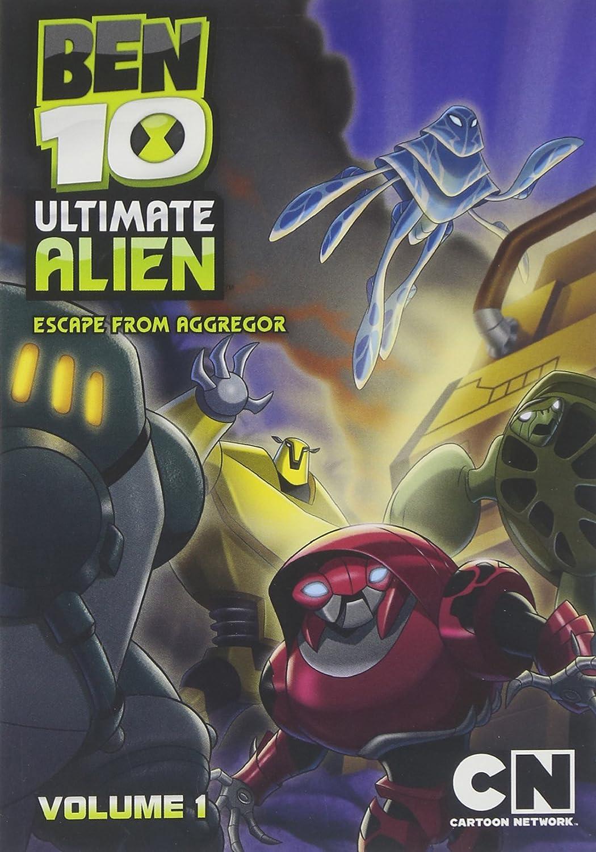 Amazon Cartoon Network Classic Ben 10 Ultimate Alien Escape From Aggregor V1 Glen Murakami Movies TV