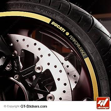 Gold Rim Liserets Moto Ducati Performance Kit Monster 696 Diavel