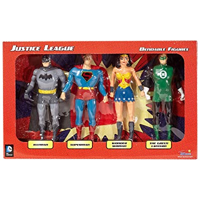 Justice League Bendable Boxed Set - NJ Croce: Toys & Games