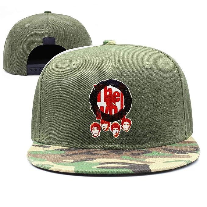 DSdarRke Band Logo Adjustable Baseball Cap Snapback Strapback Dad hat Unisex