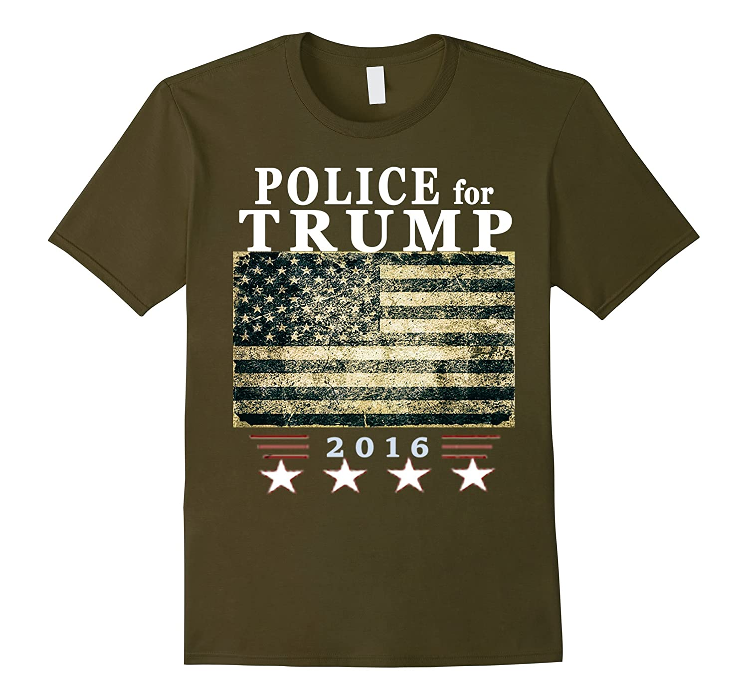 Police for Trump Shirt - Law Enforcement for Trump