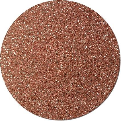 Glitter My World! Fine Flake Craft Glitter: 1 lb Jar A Rose Gold