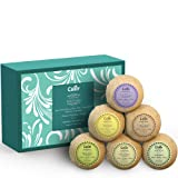 Amazon Price History for:Bath Bombs (Set of 6) by Calily - Natural Bath Bombs To Indulge, Relax and Nourish Senses, Skin, Body and Spirit - Bath Bomb Kit With Six Different Essential Oil Bath Bombs - Gluten-Free & Vegan