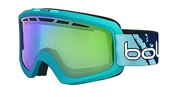 bd99fa9ab4 bollé Nova - Gafas de esquí II Matte Blue Gradient/Green Emerald, 21466