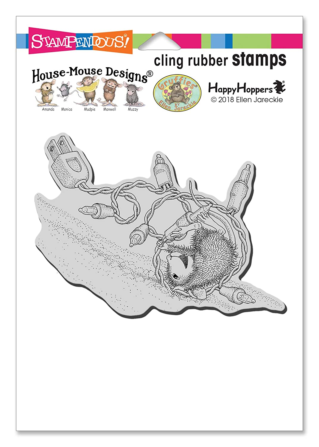 Stampendous HMCP110 House Mouse Cling Tangle Tumble Rubber Stamp,
