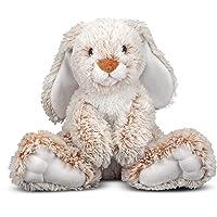 "Melissa & Doug Princess Soft Toys 9"" Plush Burrow Bunny"