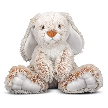 Melissa & Doug Burrow Bunny Stuffed Animal For Kids