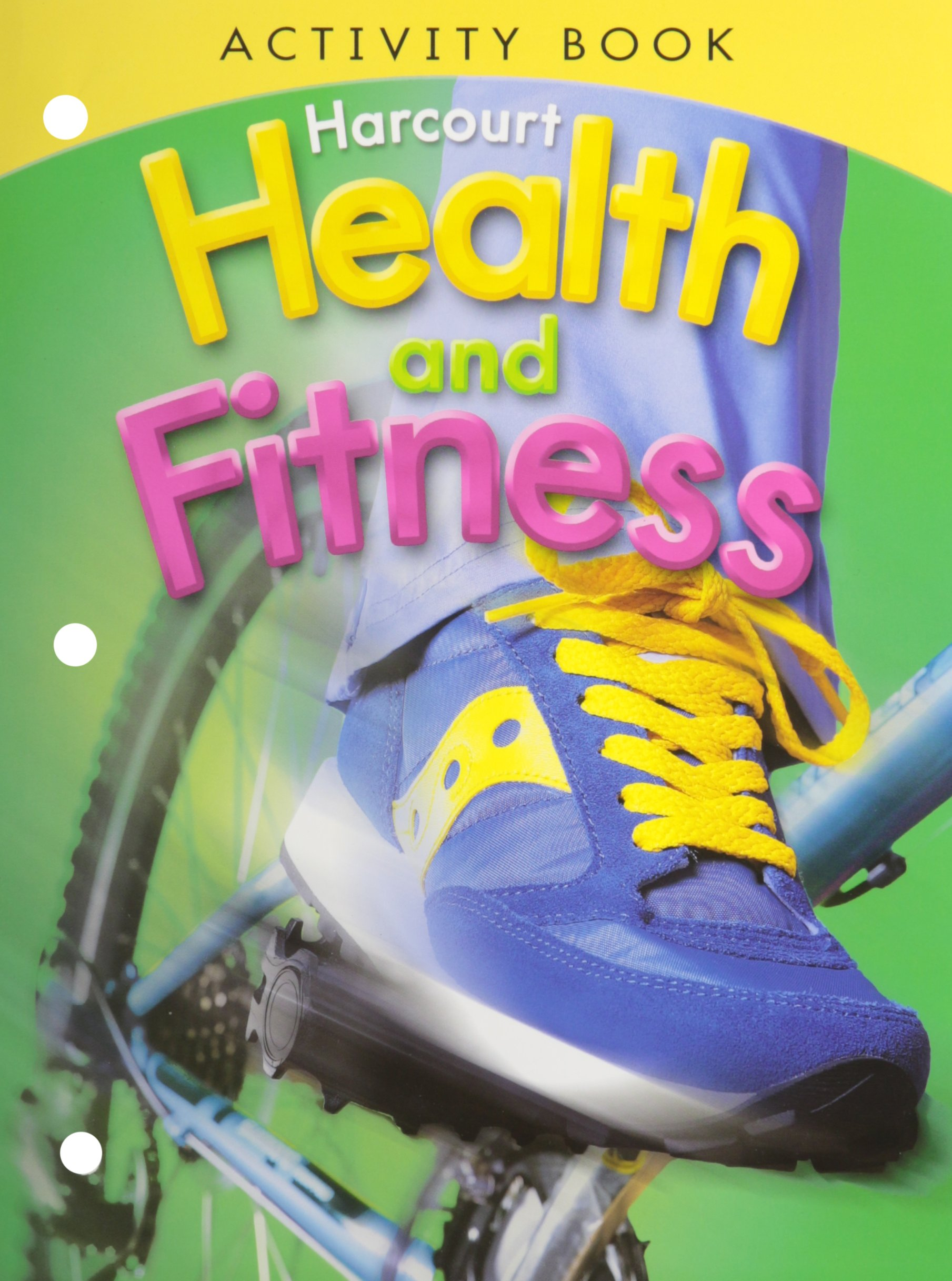 Harcourt health fitness activity book grade 4 harcourt school harcourt health fitness activity book grade 4 harcourt school publishers 9780153551420 amazon books robcynllc Images