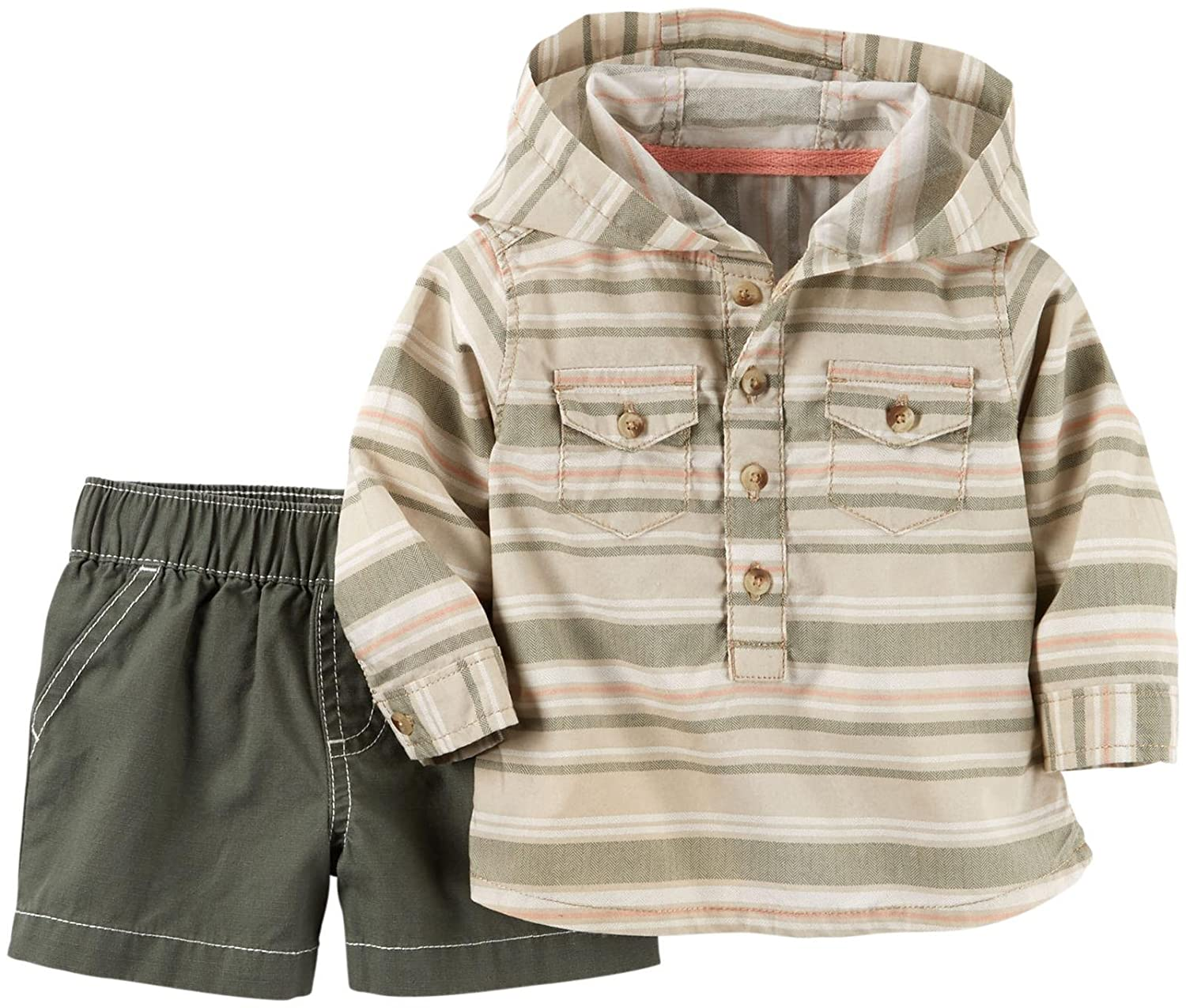 Carters Baby Boys 2 Pc Sets 127g137