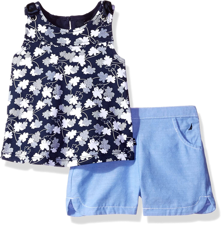 Nautica Childrens Apparel NIK0292Q Baby Girls Sleeveless Fashion Top W//