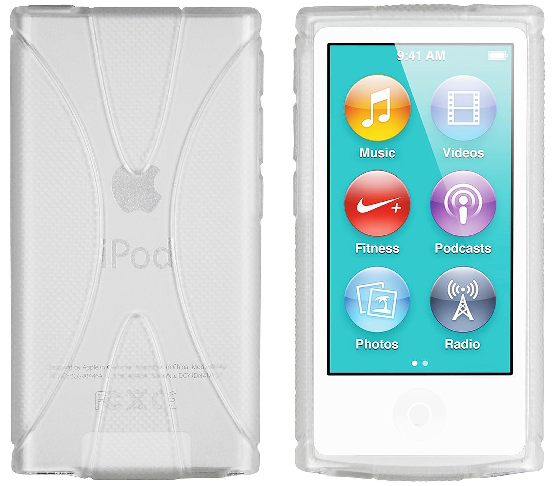 mumbi X-TPU Silikon Hülle für iPod Nano 7G Schutzhülle (7. Generation) transparent weiß mumbi« ipod-nano-7-hülle