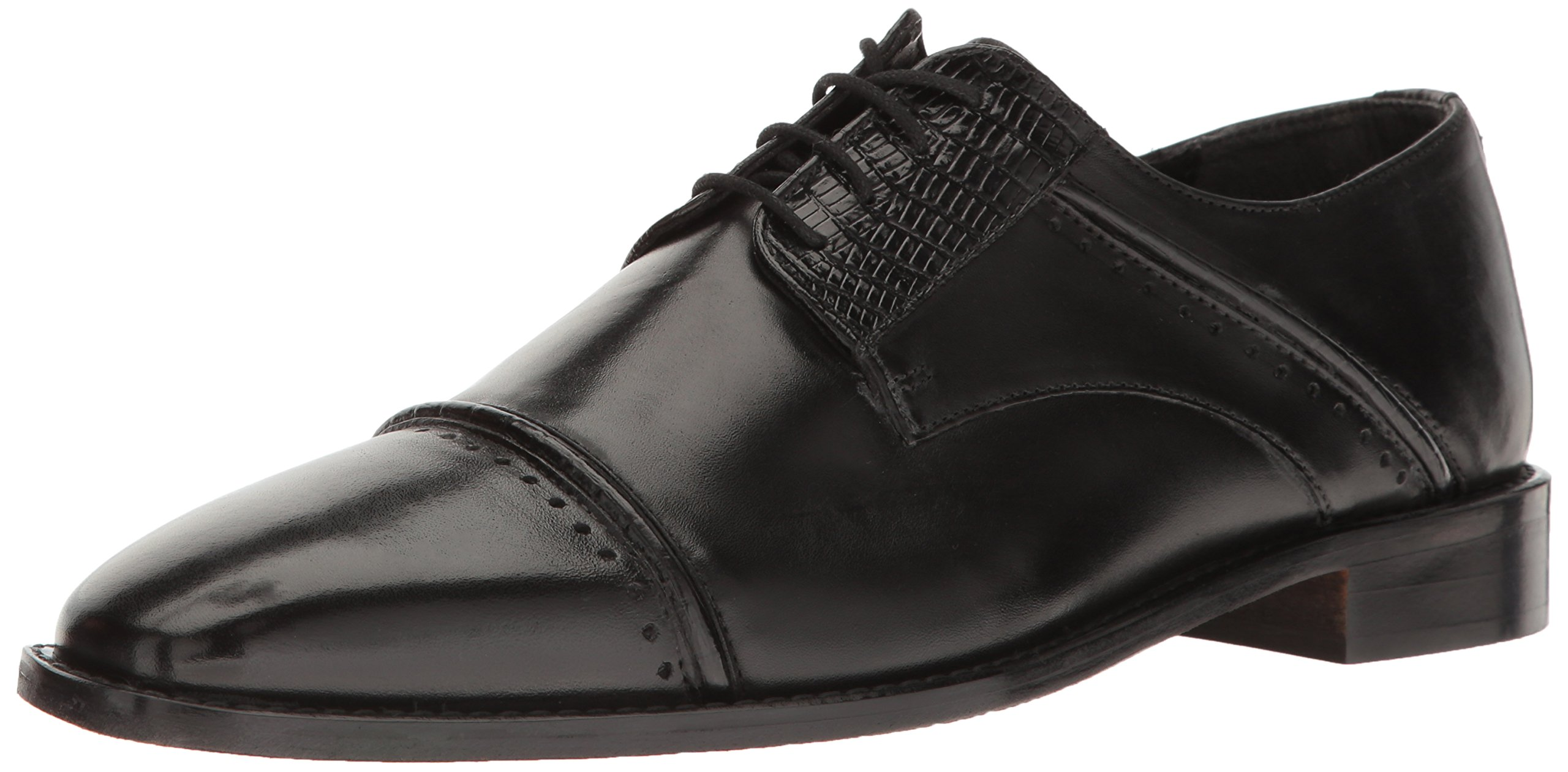 Stacy Adams Men's Ryland Oxford, Black, 10.5 M US