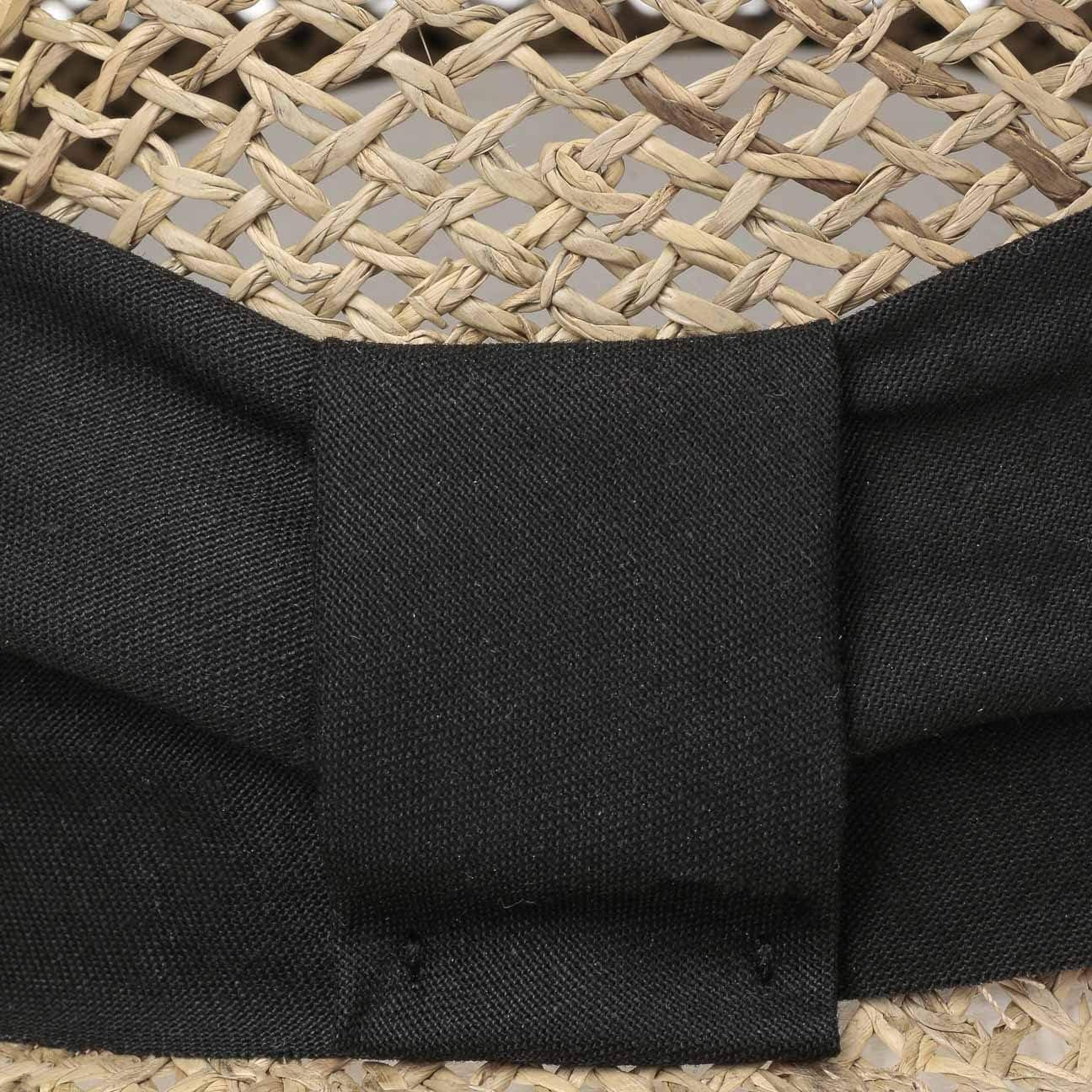 Made in Italy mit Schirm Fr/ühling-Sommer Lipodo Breezy Strohcap Damencap Strandcap Sonnencap Sonnenvisor Visor Damen