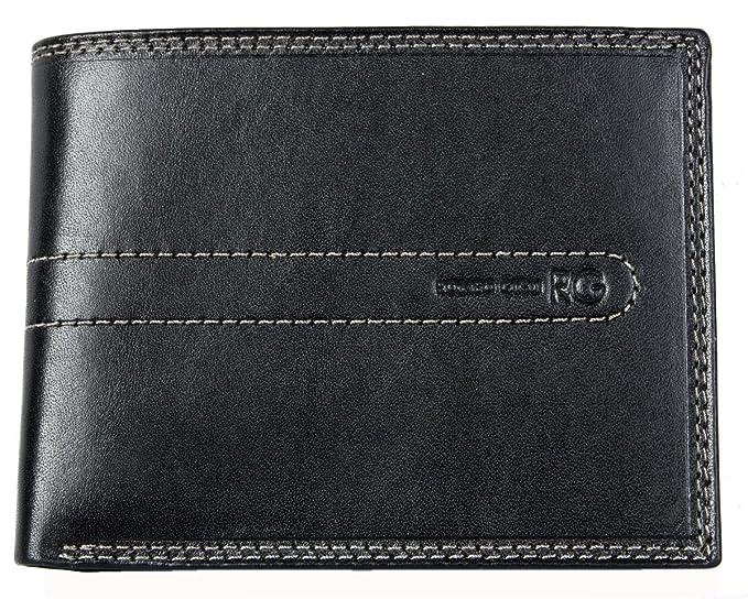 design di qualità d7e8b e4053 Portafoglio Romeo Gigli nero in vera pelle lucida resistente ...