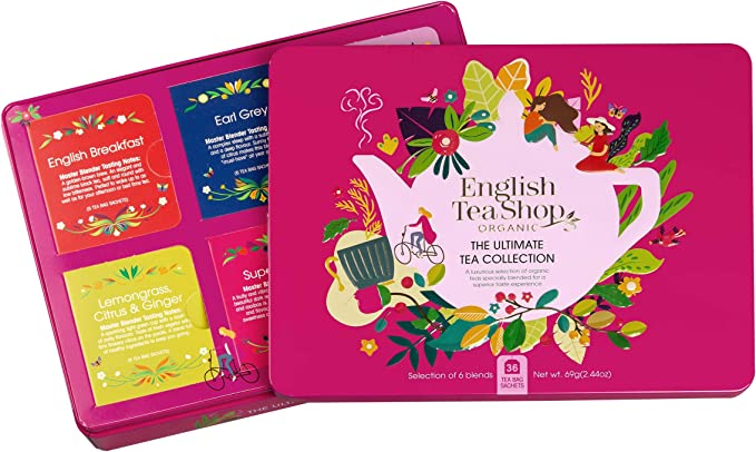 English Tea Shop Tés Orgánicos Variados y Infusiones en 6 sabores ...