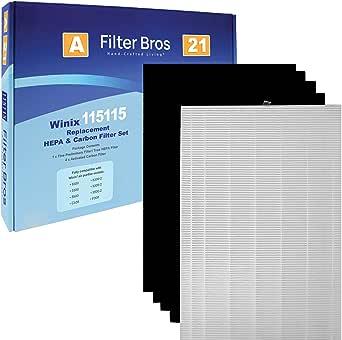 115115 Filtro HEPA de repuesto para purificadores de aire Winix ...