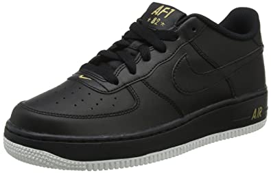 huge selection of f174c 31cc2 Nike Air Force 1 (GS) Big Kids Shoes BlackBlackSummit White