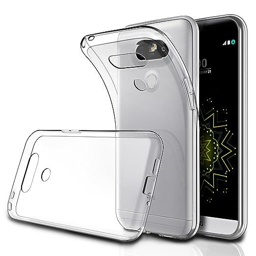 """65 opinioni per Cover LG G5 5.3"""" (Confezione da 2), Simpeak Custodia Chiaro Cristallo Liquid"""