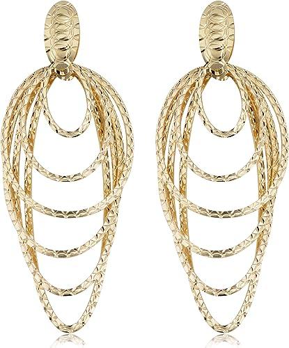 Gold hoop earrings 9 carat multi colour gold diamond cut stars