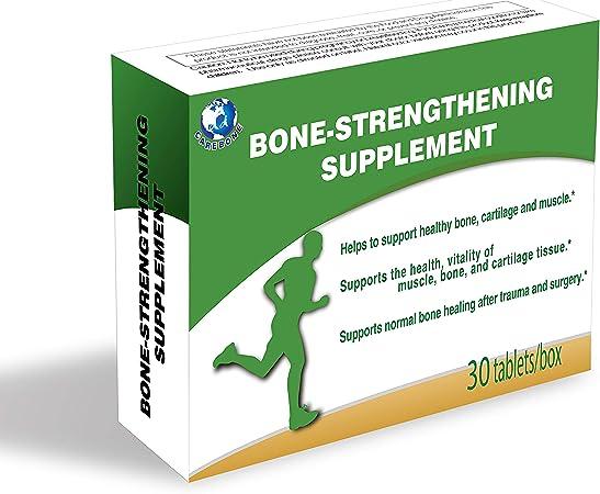 Carebone Bone-Strengthening Supplement BSP for Bone Joint Cartilage Muscle Tissue Health 30 Tablets