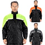 Viking Cycle Motorcycle Rain Gear - Two Piece Motorcycle Rain Suit