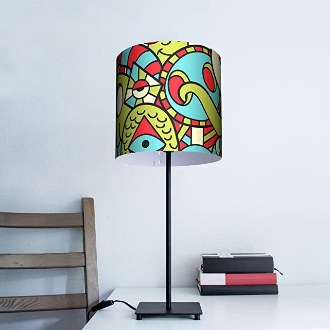 Lámpara de mesa oficina lámpara para leer (con diseño: Birds ...