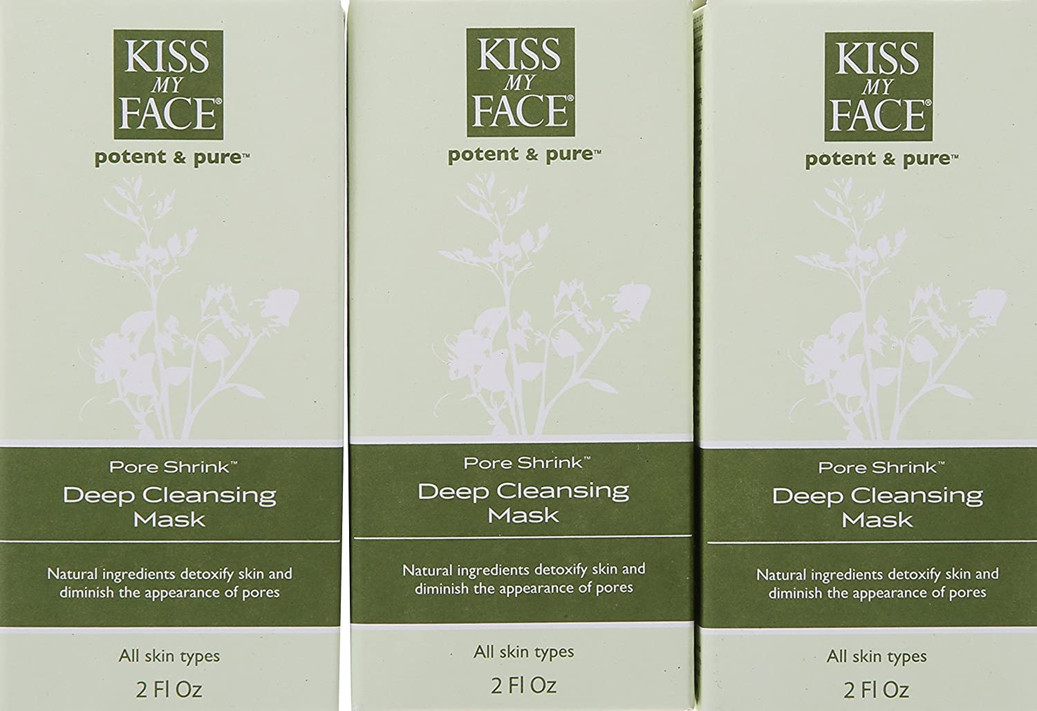 Pore Shrink Deep Cleansing Mask by Kiss My Face #21