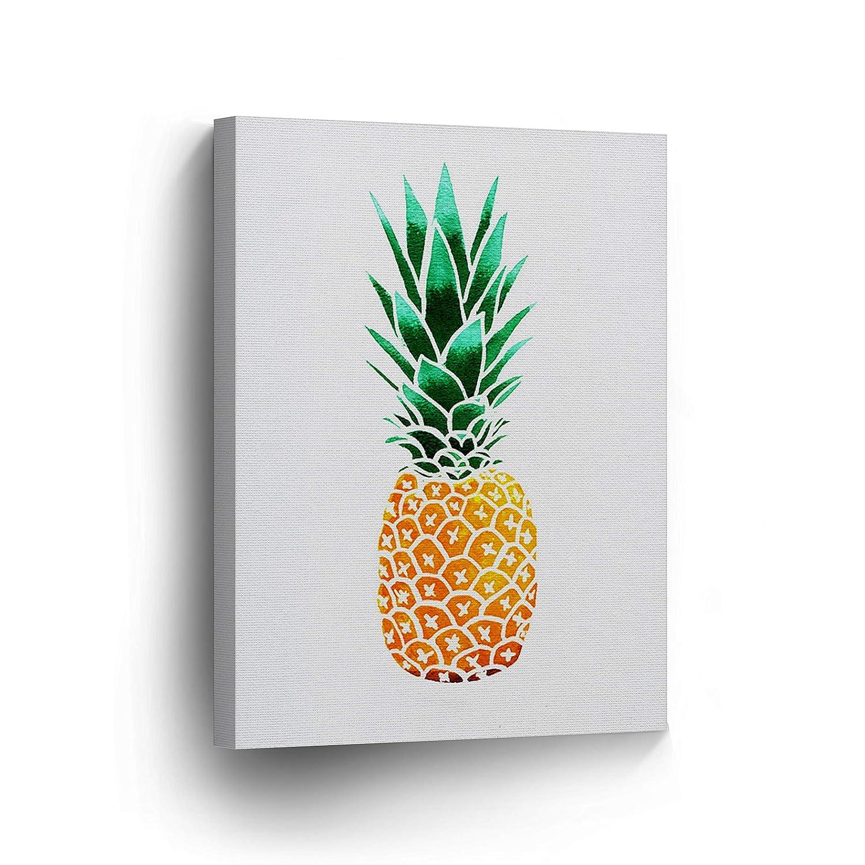 Pineapple Decor Tropical Fruit Canvas Print Home Decor Living Room ...