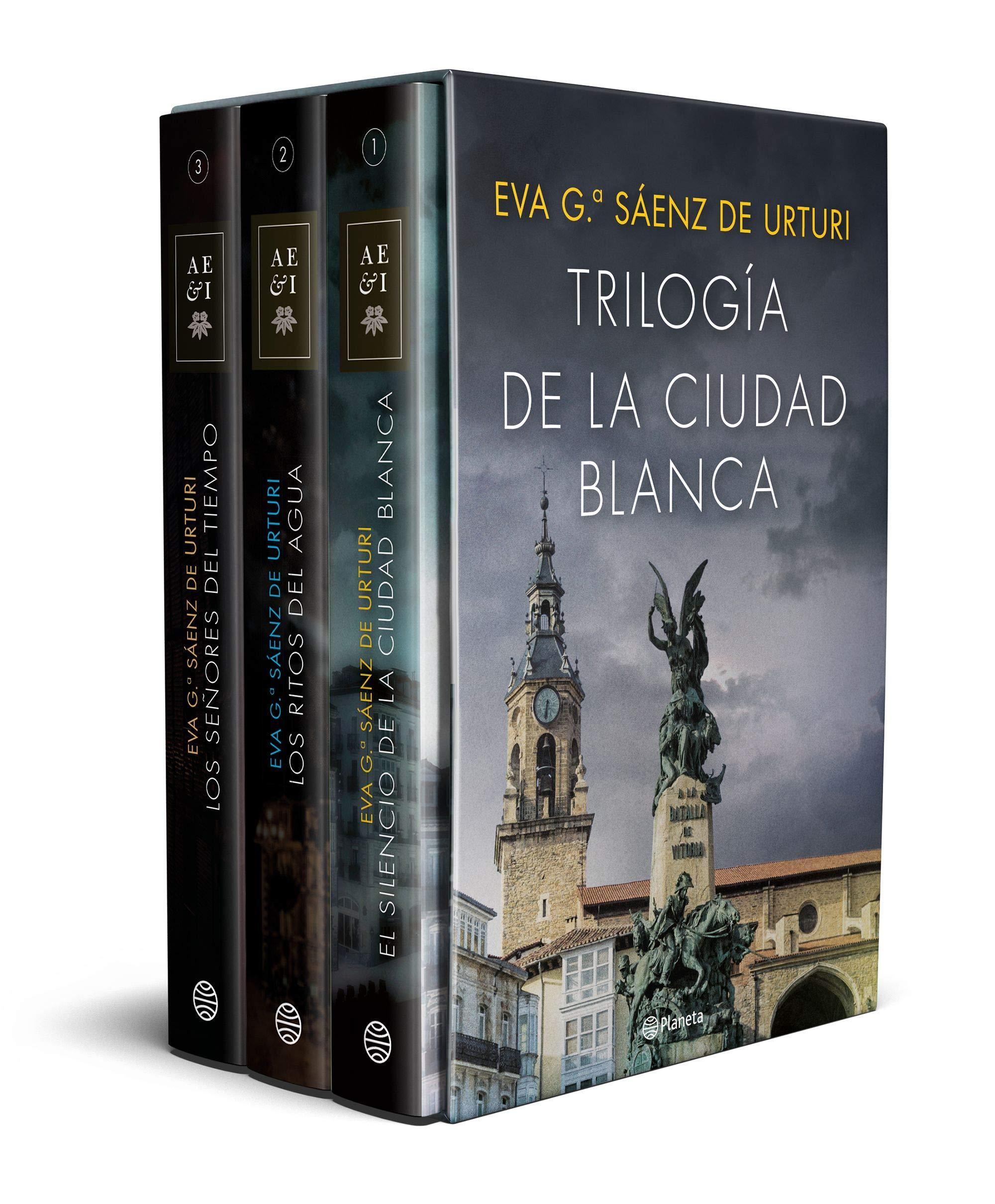 Estuche trilogía La ciudad blanca Autores Españoles e Iberoamericanos: Amazon.es: García Sáenz de Urturi, Eva: Libros