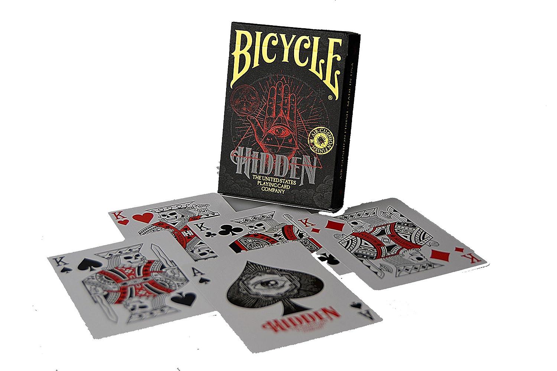 Amazon.com: Bicycle 1041160 Hidden Premium Poker Playing ...