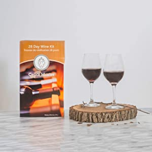 Cellar Master Red Wine Making Kit (Cabernet Sauvignon): Make up to 30 Bottles of Wine in 4 Weeks. Perfect for Beginners & Wine Gurus