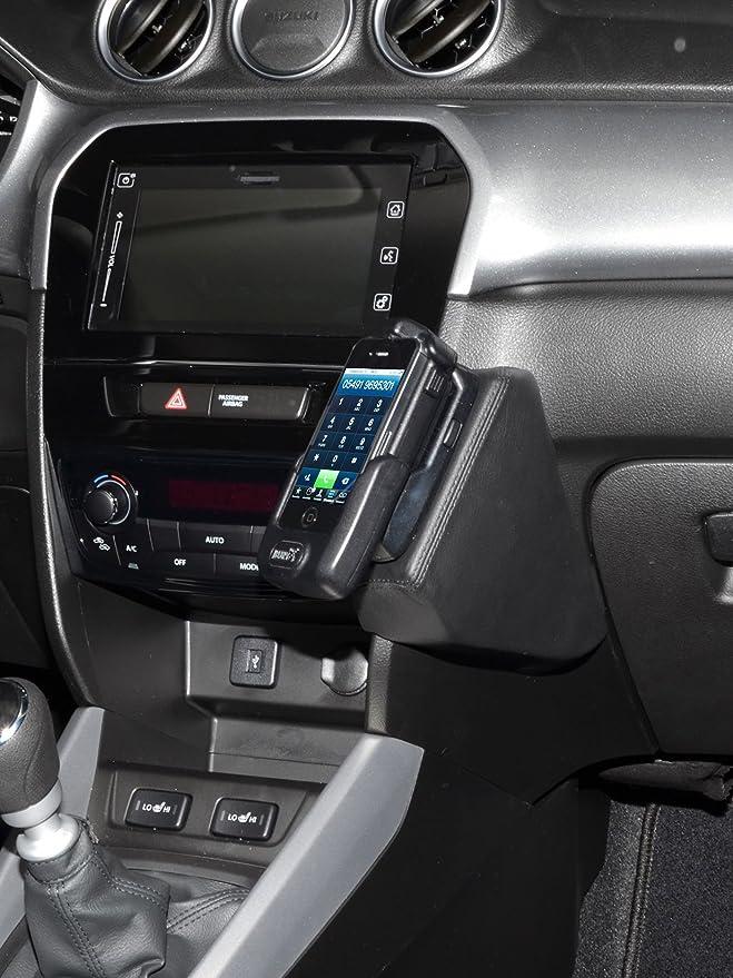 Kuda 2040 Halterung Echtleder Schwarz Für Suzuki Vitara Elektronik