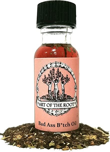 Bad Ass B*tch Oil for Power, Success, Attraction, Achievement & Victory for Wiccan, Pagan, Hoodoo &Conjure Spells & Rituals