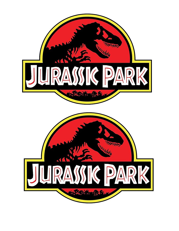 WSQ 3 Jurassic Park 9x12 Sticker Decal Vinyl Jeep Safari Dinosaur Large