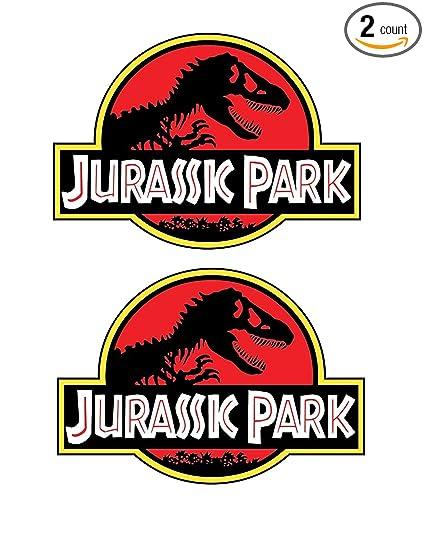 Amazon.com: WSQ Jurassic Park - Adhesivo de vinilo para Jeep ...