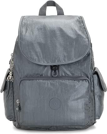 Kipling City Pack Medium Backpack Mochila, Acero Gris Metal, talla única para Mujer: Amazon.es: Ropa y accesorios