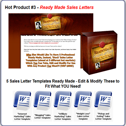 Amazon Com 25k Ready Made Sales Letters Appstore For Android