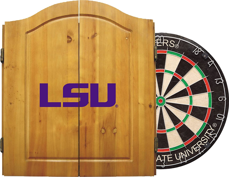 Louisiana St Univ Dart Cabinet   B001RNBREM