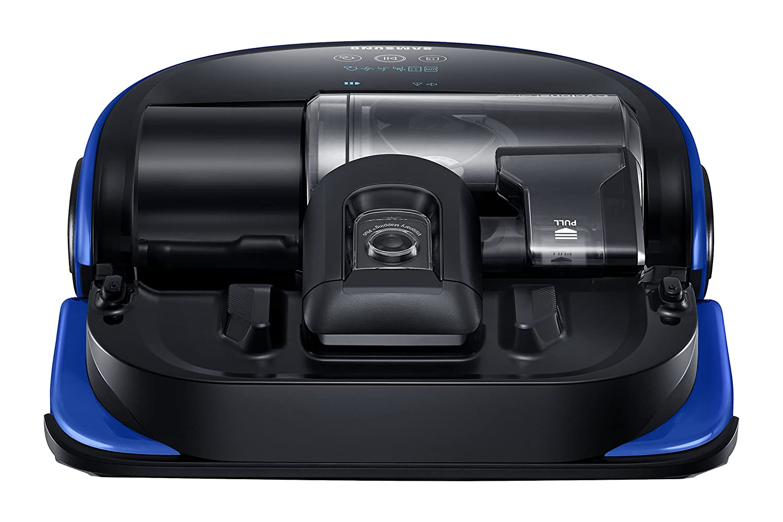 Samsung VR20K9000UB Sin bolsa 0.7L Negro, Azul aspiradora robotizada - Aspiradoras robotizadas (Sin bolsa, Negro, Azul, Forma en D, LED, 0,7 L, ...