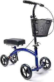 KneeRover Deluxe Steerable Knee Walker Scooter