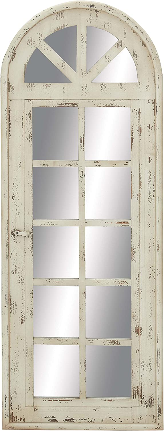 """Deco 79 Wood Mirror Wall Panel, 20 by 53"""""""
